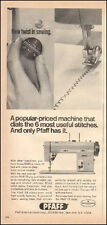 1969 Vintage ad for PRAFF`Dial Twist in Sewing Machine Photo  (020917)