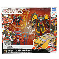 Transformers TAV27 Micron Shooter Drift Set 100% Takara Japan NEW