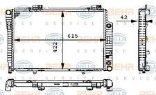 8MK 376 711-194 HELLA Radiateur refroidissement moteur