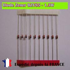 Diode Zener BZV85-C5V1, 5.1V 1.3W Boitier DO41
