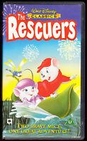 WALT DISNEY CLASSICS - THE RESCUERS - VHS PAL (UK) VIDEO