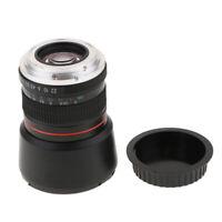 85mm f/1.8 Portrait Lens for Canon Rebel T6i T6 T5i T4i T3i T2i T1i XTi XS