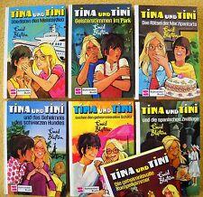 7 x Enid Blyton für Mädchen:Tina und Tini  Goldenes Schneider Buch - Geheimnis