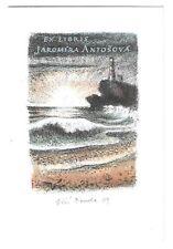 JIRI BOUDA: Exlibris für Jaromira Antosova