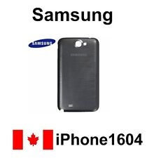 Grey Samsung Galaxy Note 2 N7100 Back Cover Battery Door Housing Fast Shipping