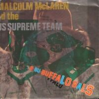 "MALCOLM MCLAREN buffalo gals 7"" PS EX/EX uk MALC 1 sol"
