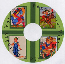 Vintage Child's Birthday Greeting Cards CD V. 2
