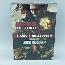 Jack Reacher: 2-movie Collection DVD (2017) Tom Cruise, McQuarrie (DIR) cert 15