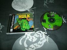 Incredible Hulk: The Pantheon Saga Sony Playstation, PS2 And BC PS3's