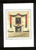 1987 Ronald Reagan White House Christmas Card