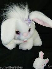 Playskool Bunny Surprise Hasbro White Bunny Rabbit + Baby Bunny