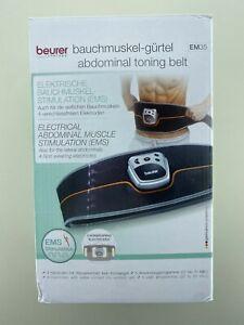 Beurer EM35 Abdominal Muscle Toning Belt (See Description)