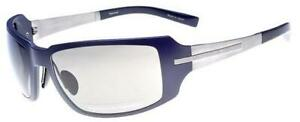 Porsche Design p8513 B Schwarz-Grau Titanium Sonnenbrille Sonnenbrille Grau Linsen