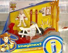Toy Story 4 Imaginext  DUke Caboom Stunt Set Figure Motorcycle Gift Boy