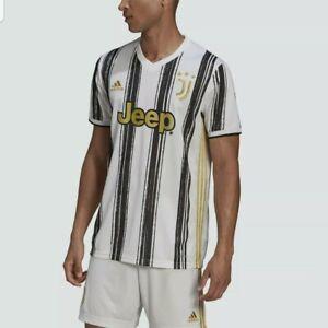 Adidas Men's 20/21 Juventus Home Stadium Soccer Jersey Sz S EI9894
