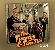 CD The Twangy & Tom Trio – 1, 2, 3, 4! ( French Rockabilly Band ) NEW 2018 ALBUM
