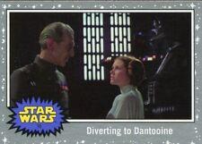 Star Wars JTTROS Silver Parallel Base Card #62 Dooku/'s Demise