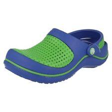 Calzado de niña zuecos azul color principal azul