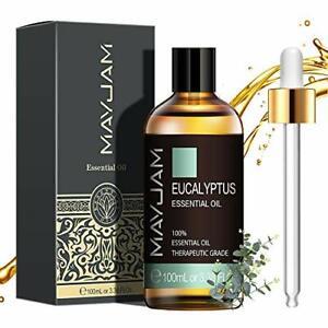 MAYJAM Aceites Esenciales de Eucalipto 100 ml 100% Aceites Esenciales Natural...