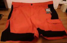 Magellan Fish Gear orange black Shorts Men's Size 40 Mag Repel Cargo flat front