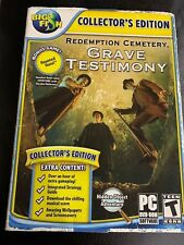 Big Fish Collectors Edition Redemption cemetery Grave Testimony W Bonus Game