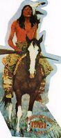 ADESIVO-ADESIVO-ADESIVO-ORIGINALE D'EPOCA 1981-FABRIZIO DE ANDRE'-