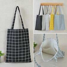Fashion Eco Shopping Cotton Linen Tote Handbag Canvas Purse Pouch Shoulder Bag#