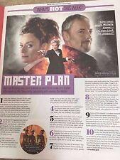 Sun TV magazine 24th June 2017 John Simm Doctor Who Matthew Lewis