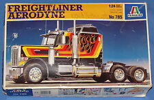 FREIGHTLINER AERODYNE SEMI TRUCK---1:24 SCALE ITALERI MODEL KIT NO. 785
