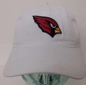 Arizona Cardinals Unisex Adjustable Slouch White Color Reebok Curve Hat