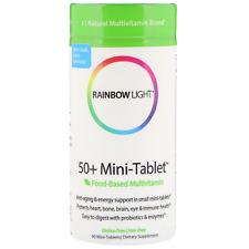 Rainbow Light- 50+ Mini Tablet Food-Based Multivitamin 90 Mini-Tablets I