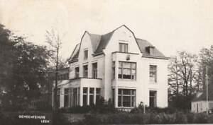 Ansichtkaart Nederland : Leek - Gemeentehuis (boxa0027)