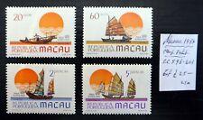 China Macau 1984 Stamp Exhibition Ships As Described U/M Nm889