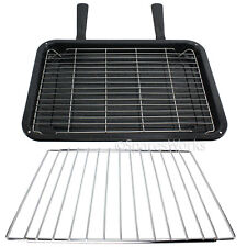Adjustable Shelf & Medium Grill Pan Rack for Whirlpool Oven Cooker