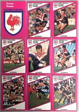1988 STIMOROL RUGBY LEAGUE EASTERN SUBURBS ROOSTERS TEAM SET