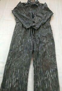 WALLS 1980S VINTAGE REALTREE Unlined Tree Bark Camo Coveralls Men's Size 42-44