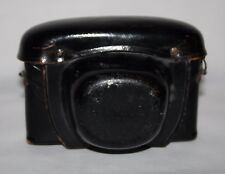 Hanimex - Vintage Black Leather Camera Case