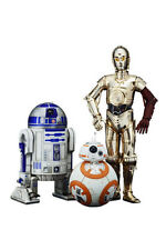 STAR WARS C-3PO and R2-D2 + BB-8 KOTOBUKIYA ARTFX + 1/10 Statue NEU OVP Episode7