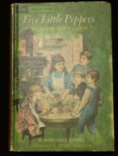 Five Little Peppers & Alice in Wonderland 1963 Book - Companion Library
