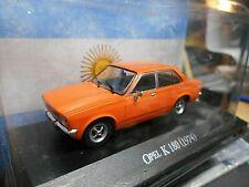 OPEL C Kadett Stufenheck K180 1974 orange Argentina Atlas IXO Altaya SP 1:43