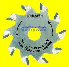 PROXXON 28016 Sägeblatt Hartmetall 10 Zähne für Tischkreissäge 27006 28070 27070