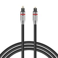 2m OPTICAL CABLE DIGITAL AUDIO LEAD TOSLink DTS SKY SURROUND SOUND VIRGIN 5mm