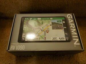 NEW Garmin RV 1090 10in GPS Navigator w/ Bluetooth, Wi-Fi & Lifetime Map Updates