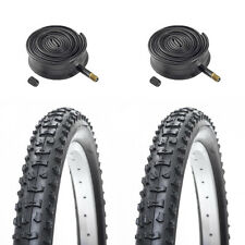 (Pair of) 20 X 1.95 (53-406) Kids / Childrens Bike Tyres & Tubes for MTB / BMX