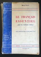 Le français essentiel - Mario Pitolli,  Scuola E Cultura - P