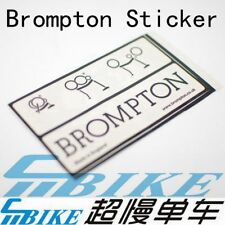 ACE Frame Decal Sticker for Brompton Bicycle Folding Bike