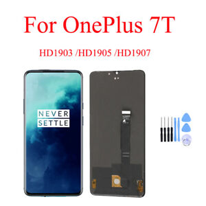 NEW For Oneplus 7T LCD Display Touch Screen Digitizer Assembly Replacement QC
