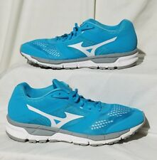 MIZUNO SYNCHRO MX Womens Blue White Running/Athletic Shoes Size 11