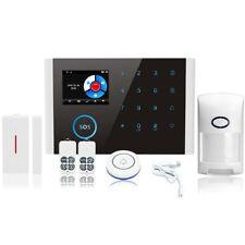 Wireless Kit De Sistemas De Alarma Antirrobos De Seguridad De la Casa De la W1H4