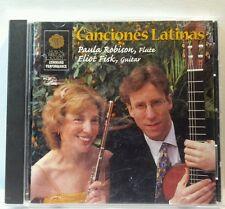 Eliot Fisk, Paula Robison: Canciones Latinas(MHS, 2003) (cd5574)